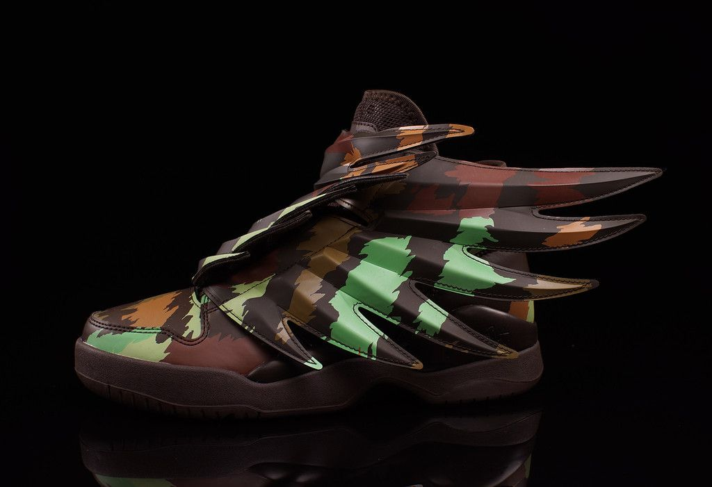 """Jeremy Scott x adidas Wings 3.0 – """"Camo"""""""
