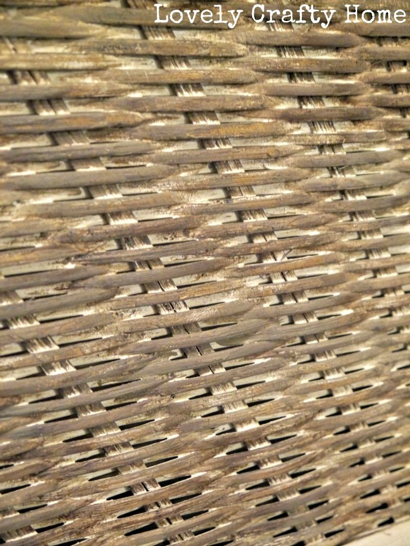 Grey Brown Washed Wicker Furniture Love