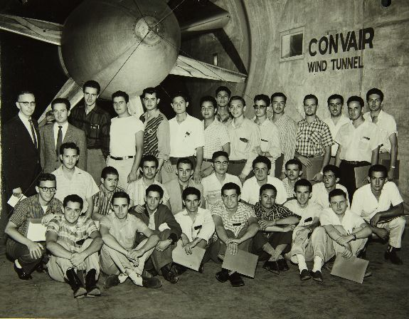 Nato Visitors Consolidated Convair Aircraft Factory San Diego Air And Space Museum San Diego Glossy Print