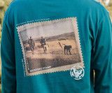 The Long Sleeve Chocolate Lab Tee