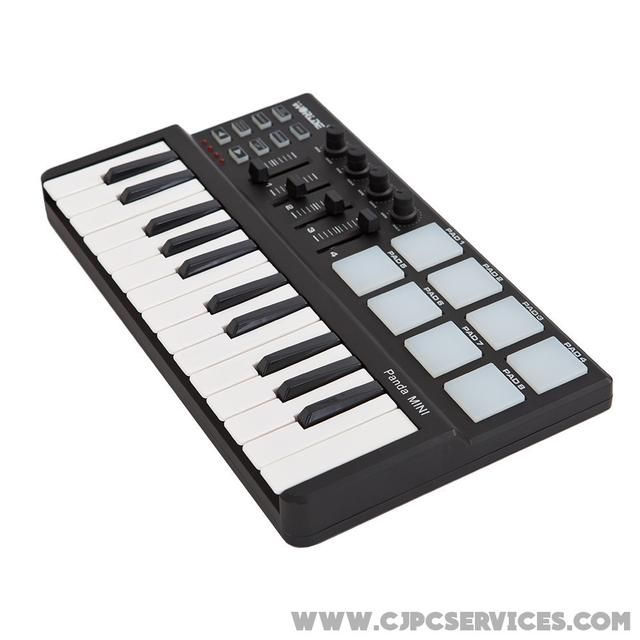 4ad1650b2ed 25-Key USB MIDI Controller Available on Shopify! Shop here 👉 http:/
