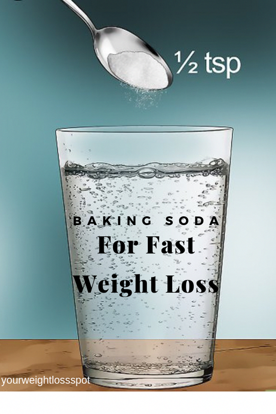 How To Use Baking Soda For Fast Weight Loss