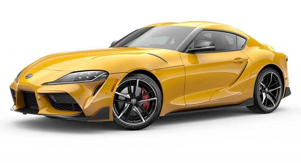2020 Toyota Supra Gets Pretty Good Mpg For A Sports Car Toyota Supra Toyota New Toyota Supra