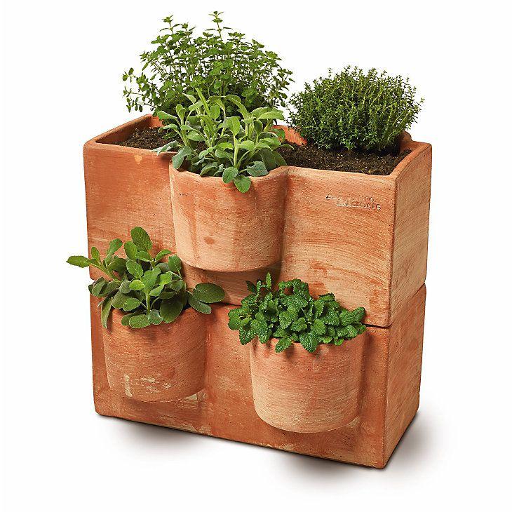 Cool Stapelbarer Pflanzkasten Terrakotta | Balkon, Garten, Permakultur  MO61