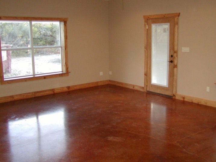 barndominium with stained floor | my style | pinterest | stained