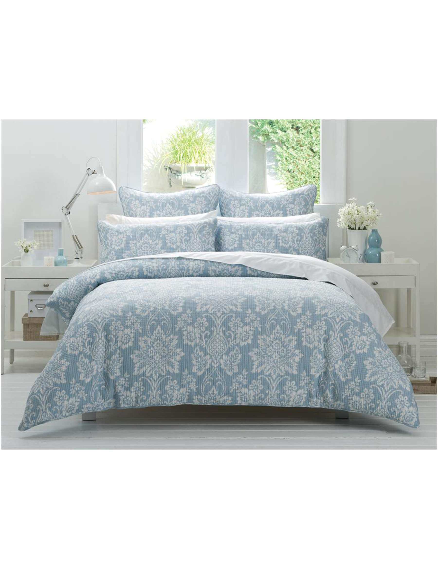 David Jones - Cotton House Rhea Double Bed Quilt Cover | Quilt ... : quilt cover sets david jones - Adamdwight.com