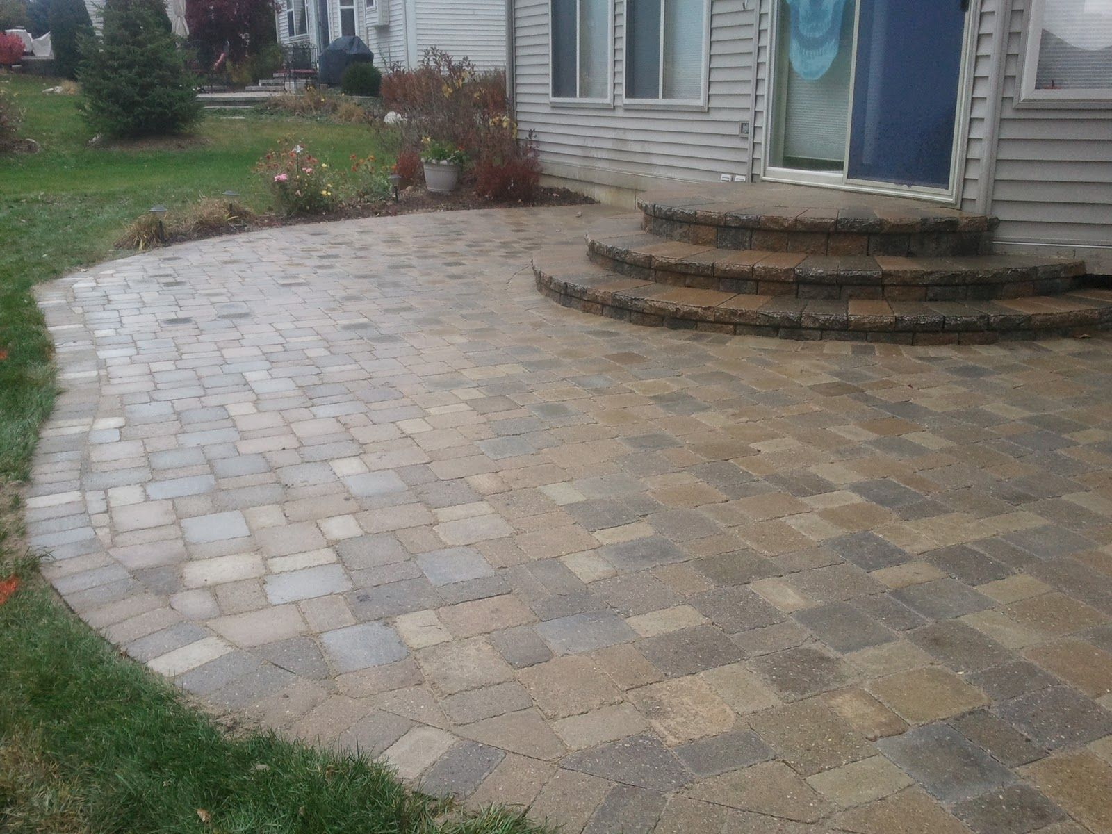 best stone patio ideas - Brick Stone Patio Designs