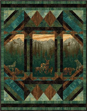 Nine Miles Aspen Nature Quilt Pattern Written For