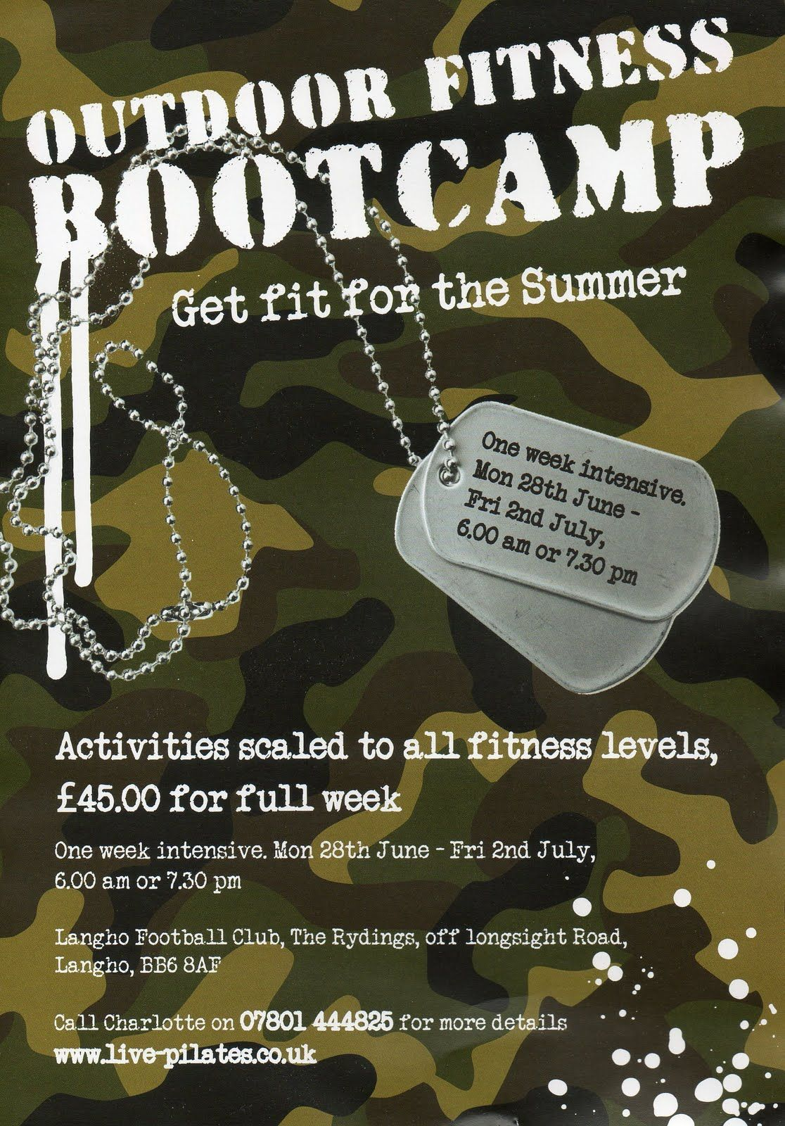 Fitness Boot Camp Flyer Template You Can Get More Details By Clicking On The Image Campingtips Camping Advice Boot Camp Workout Flyer