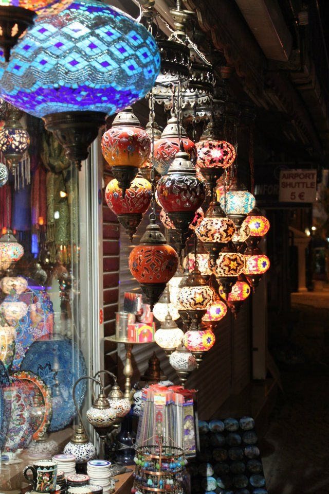 Lanterns.....possibly my favoritepart of the Grand Bazaar