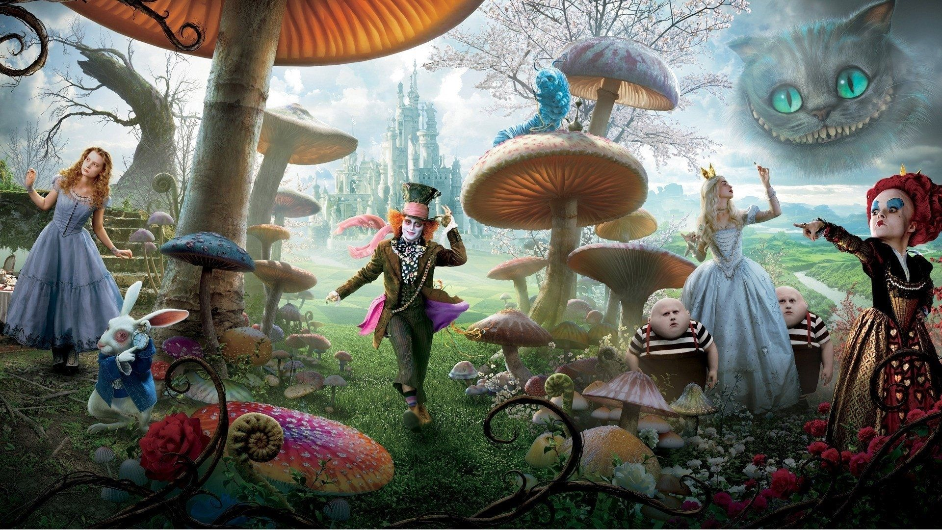 10 Top Alice In Wonderland Wallpaper FULL HD 1920×1080 For