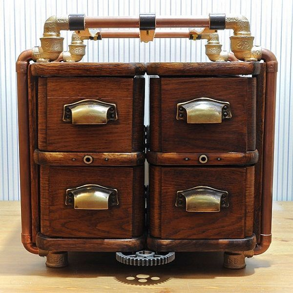 Steampunk Furniture Designs For Rustic Interiors