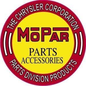 Mopar Parts 1960s Logo Magazine News Paper Print Media