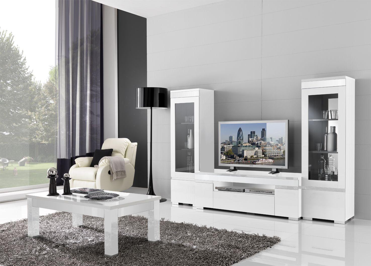 plete woonkamer set model pisano in de kleur zwart wit ook in