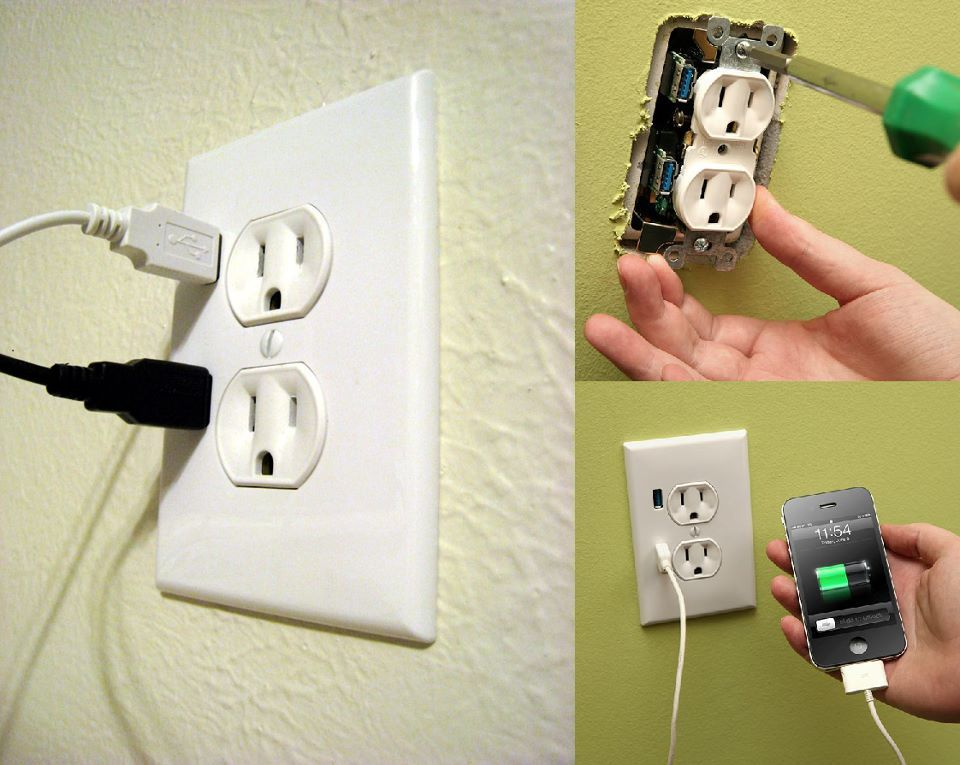 HOMEbits; The Better Wall Socket.    A whole bunch of gadgets are now charged over USB so check this bit out. The FastMac U-Socket includes two ports to charge your devices. The USB 3.0 ports together offer 2400 mA. The U-Socket electronicall...See More https://www.facebook.com/photo.php?fbid=305590752877994=a.208962485874155.29519.208320389271698=1
