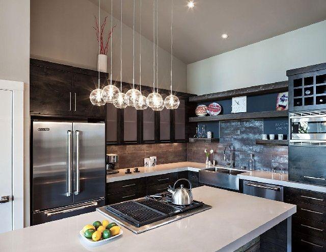 Iluminación de cocina moderna   Iluminación de cocina moderna ...