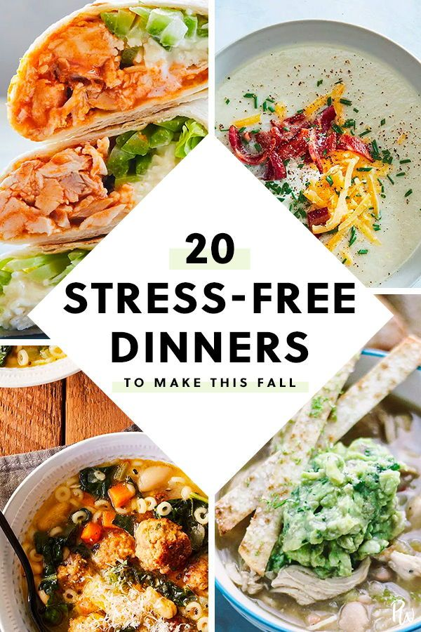 20 Stress-Free Dinners to Make This Fall images