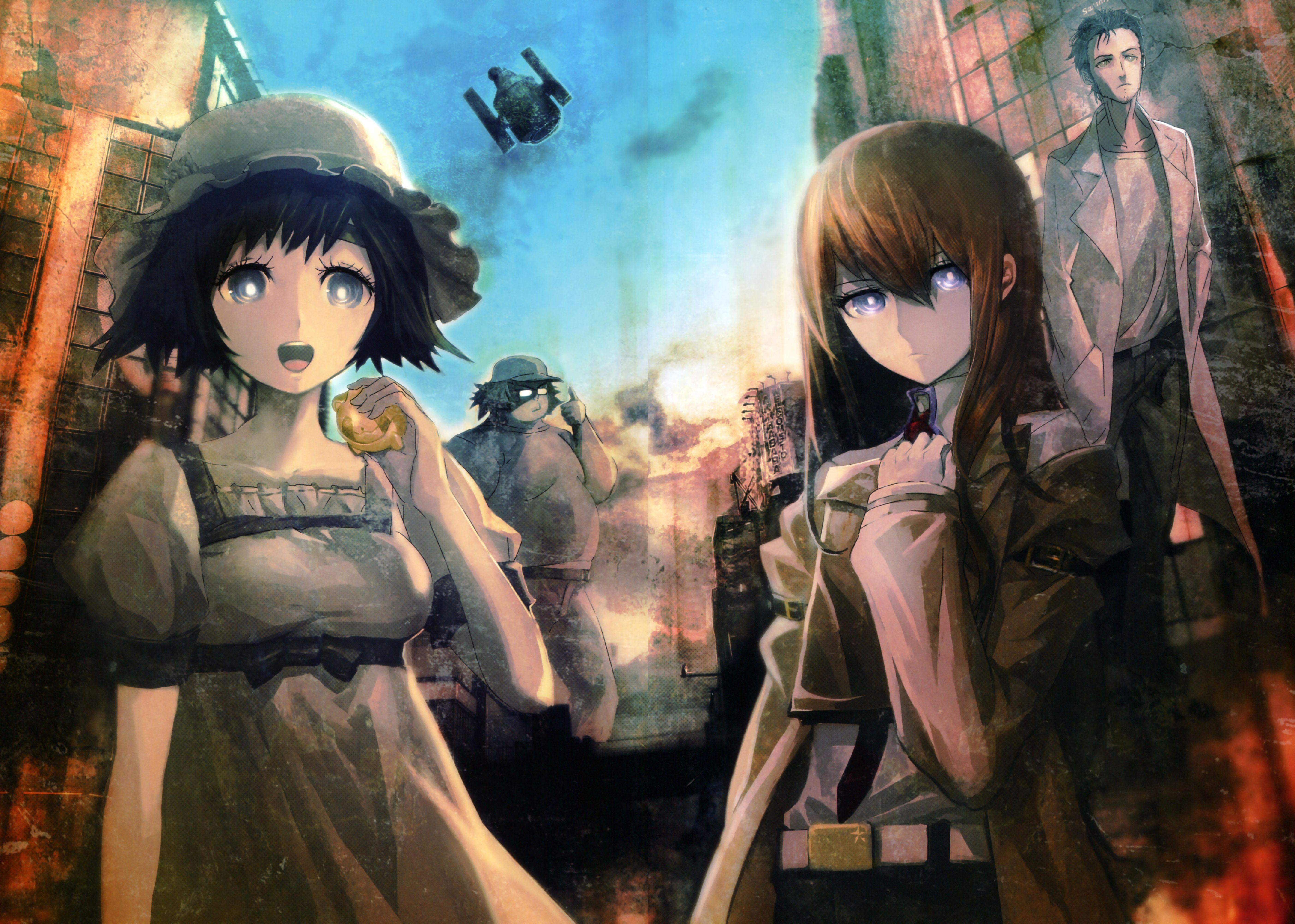 Anime Steins Gate Wallpaper Anime Wallpaper Steins Anime