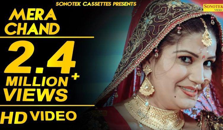 Sapna Chaudhary Mera Chand, Latest Haryanvi Romantic Song, New