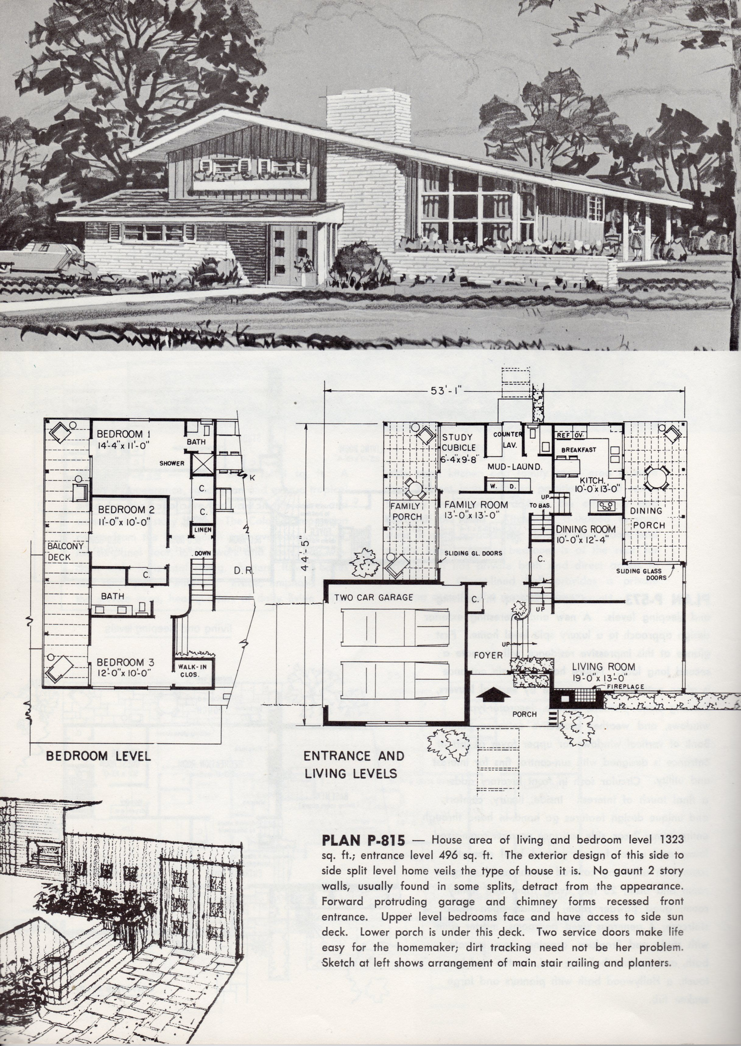 Pin By Awesomegui94 On Vintage House Plans Modern Floor Plans Mid Century Modern House Plans Mid Century Modern House