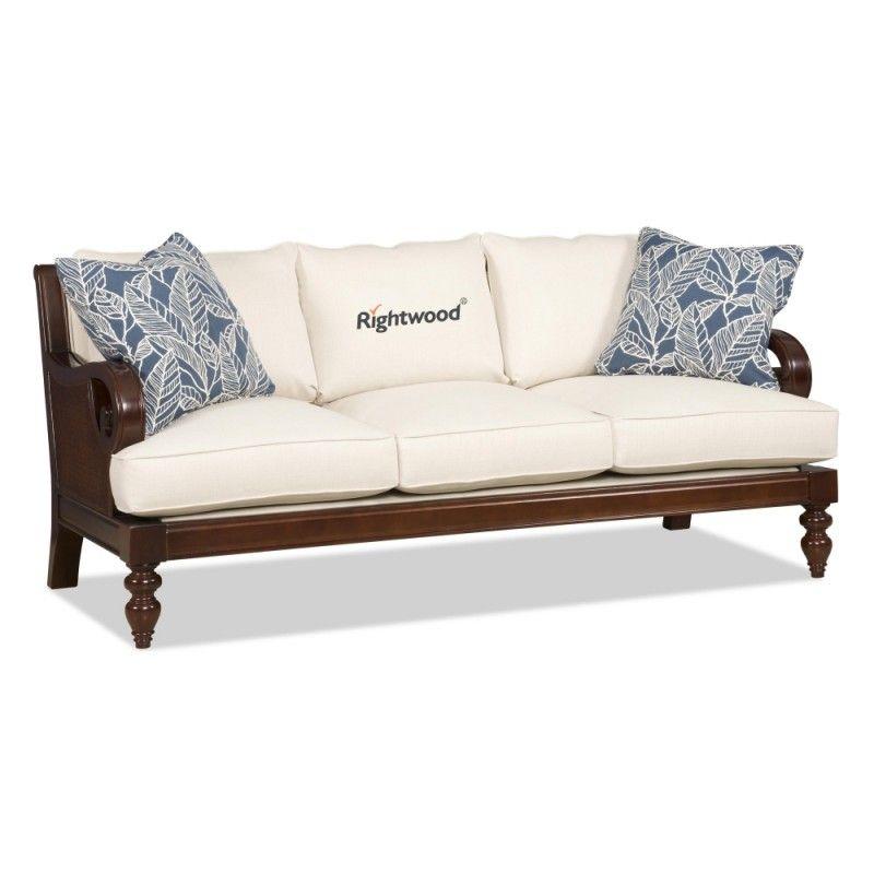 Wooden Sofa DAWN. Sheesham wood living room furniture ...