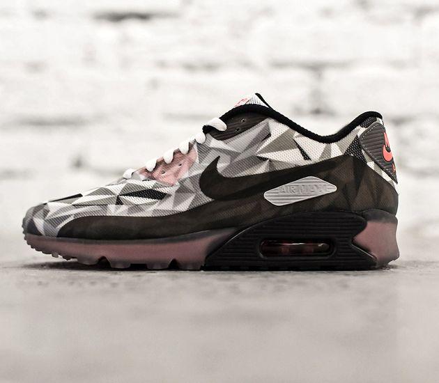 Nike Air Gris Blanc Froid Max Lunaires 90 90 Infrarouges Noir