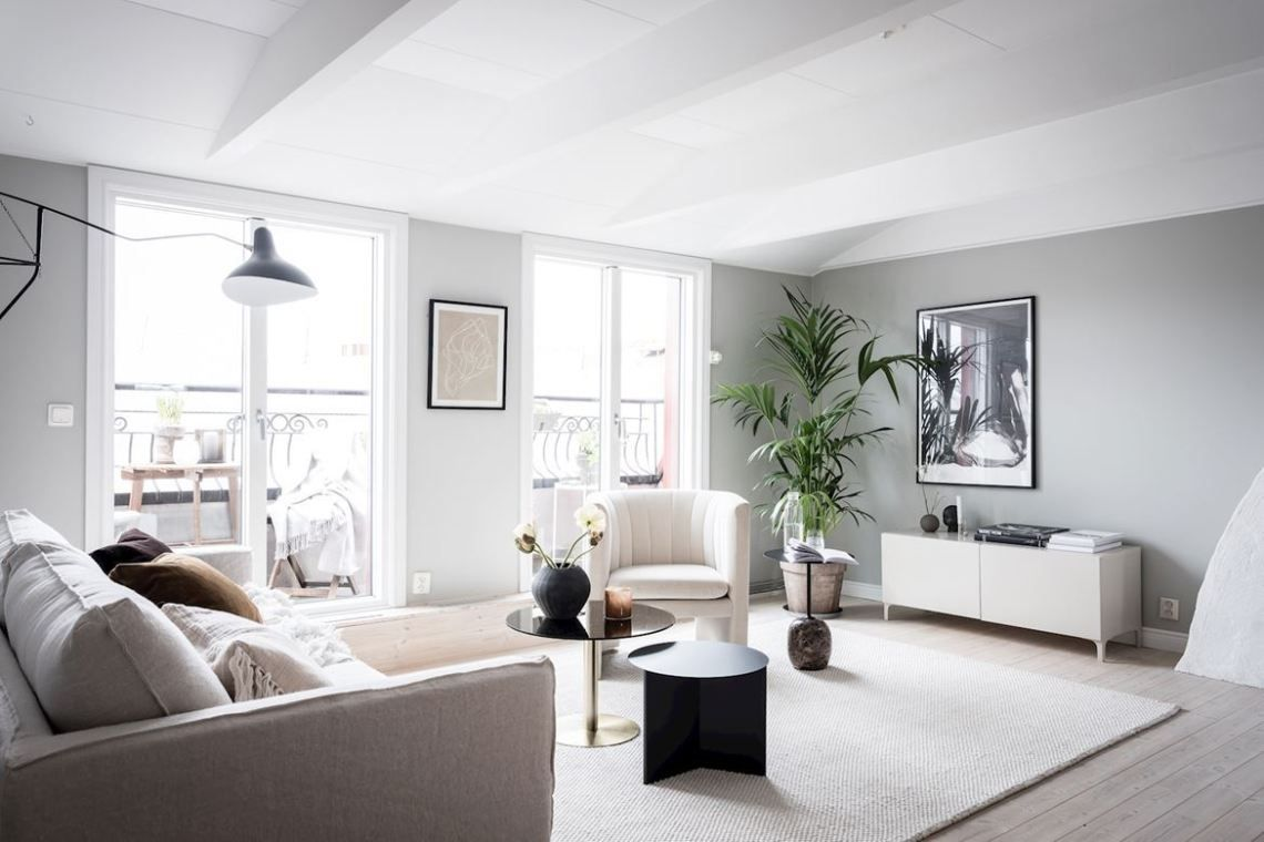 Beautiful Home With Carefully Selected Details Coco Lapine Design Home Bed Linen Design Scandinavian Apartment