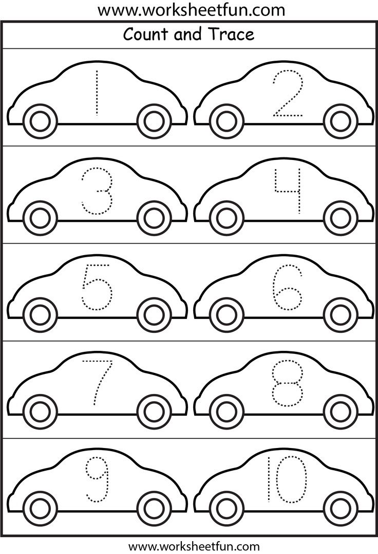Gmail cars theme - Cars Number Tracing
