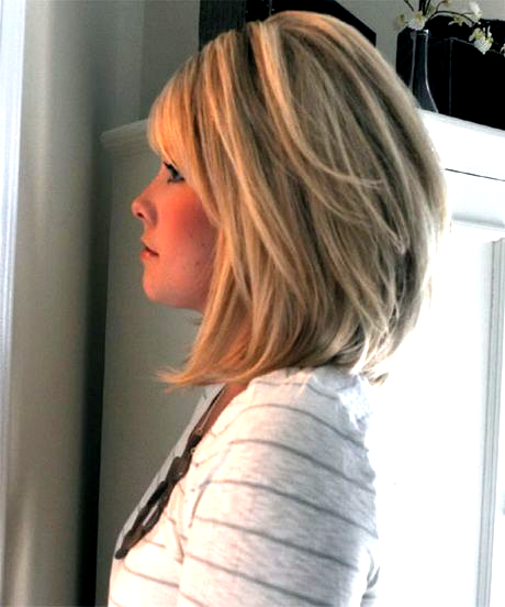Medium Length Stacked Hairstyles For Thick Hair 2015 Medium Length Stacked Bob Medium Lengt In 2020 Stacked Bob Hairstyles Thick Hair Styles Stacked Hairstyles