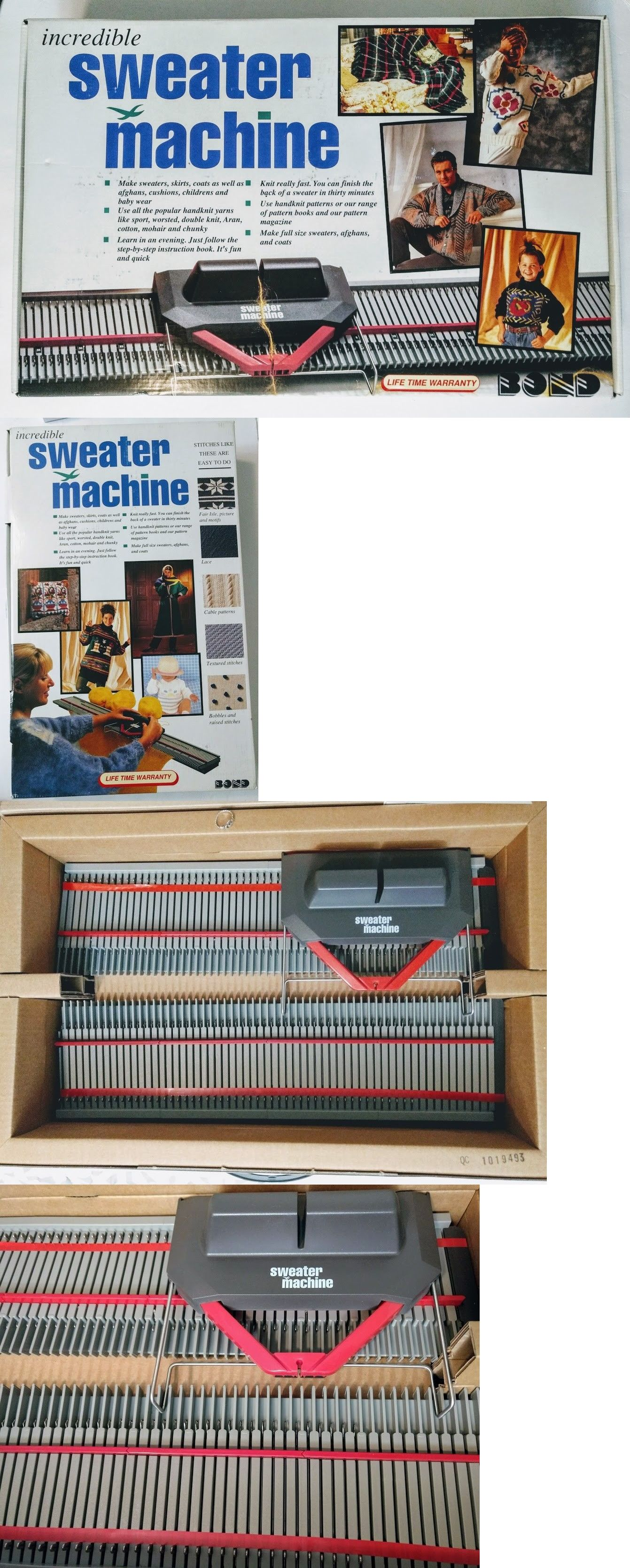 Incredible sweater machine manual ebook array knitting machines 28146 bond incredible sweater machine make afgans rh pinterest com fandeluxe Images