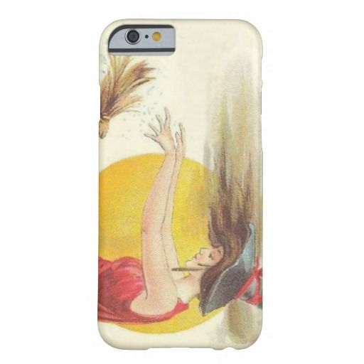 Witch Broom Full Moon Magic Spell iPhone 6 Case