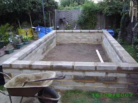Oczko wodne forum zobacz temat prostok tne oczko for Concrete backyard pond