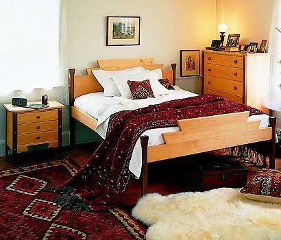 Zephyr Bed   Pompanoosuc Mills