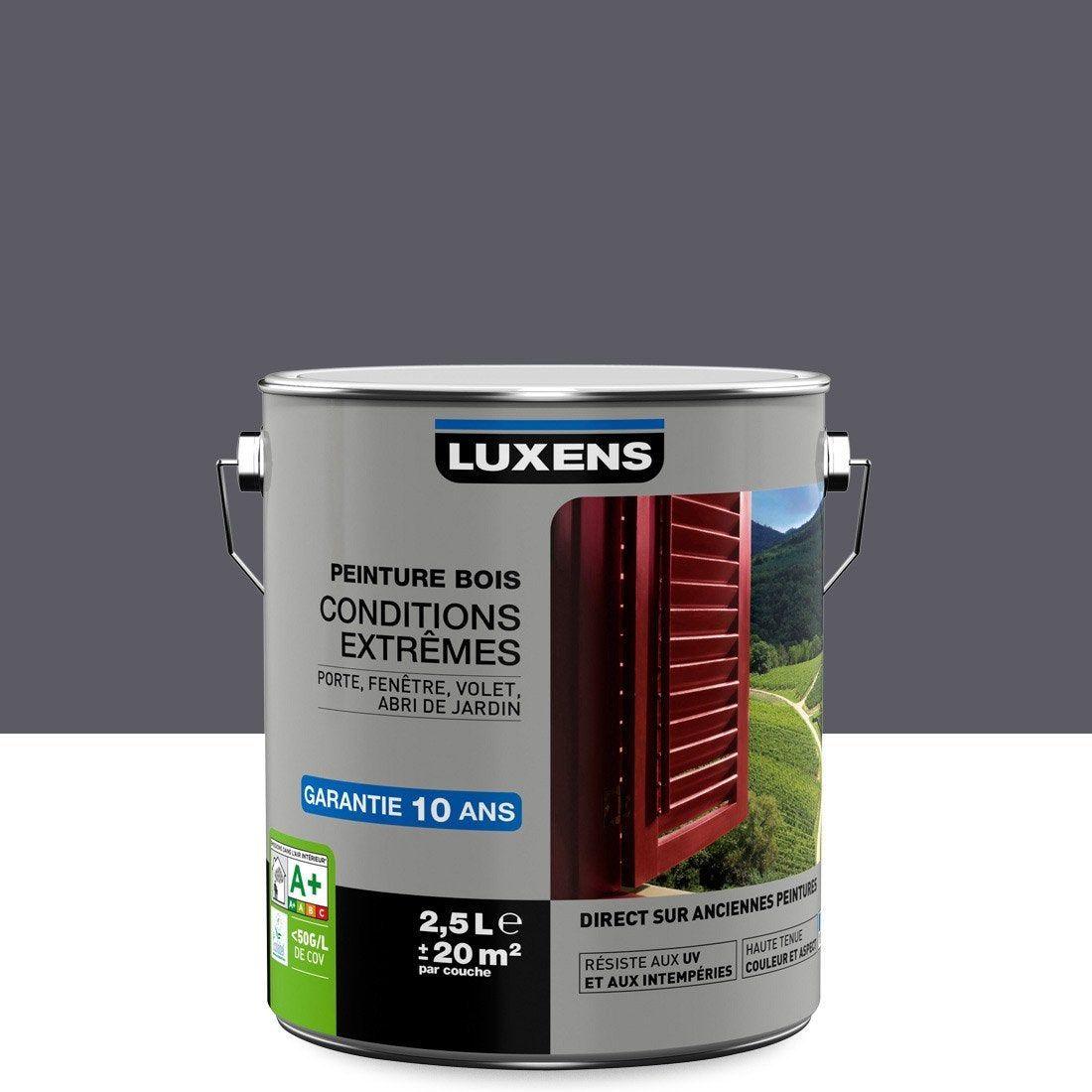 Peinture Bois Extérieur Conditions Extrêmes Luxens Gris
