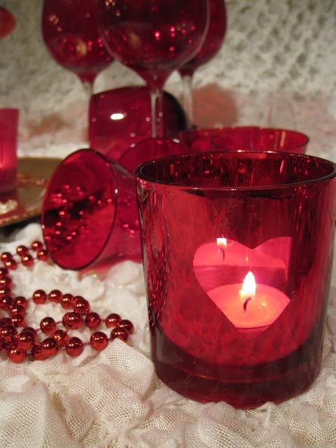 Red things in my home<3