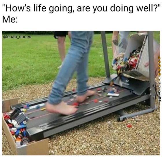 How S Life Going Lego Memes Laugh Bones Funny