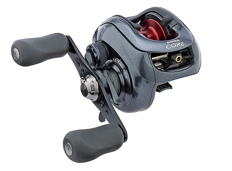 Shimano core mg low profile baitcast reels bass pro for Bass pro shop fishing reels