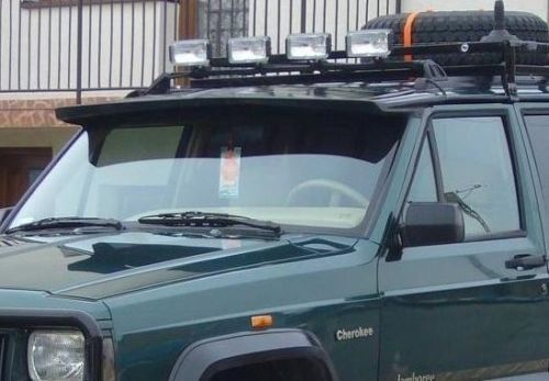 Jeep Cherokee Xj 84 01 Sun Visor Frontspoiler Tuning Gt Carros Fusca