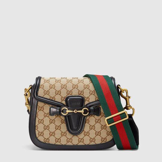 56443b6ce Gucci Lady Web Original GG shoulder bag | Expensive Handbags | Gucci ...