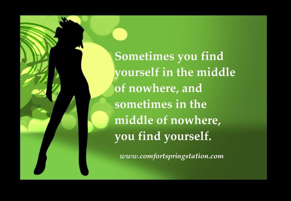 Thought For The Day Quote Find Yourself Pinterest Middle