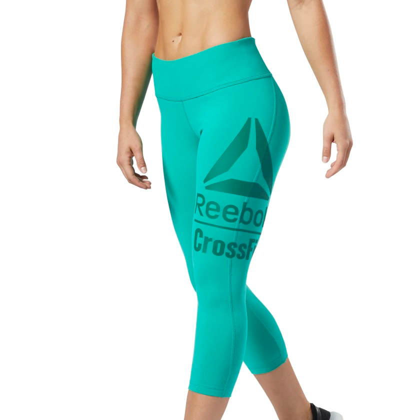 Duplicar costo Serpiente  Reebok CrossFit® Lux 3/4 Tights Emerald EC1454