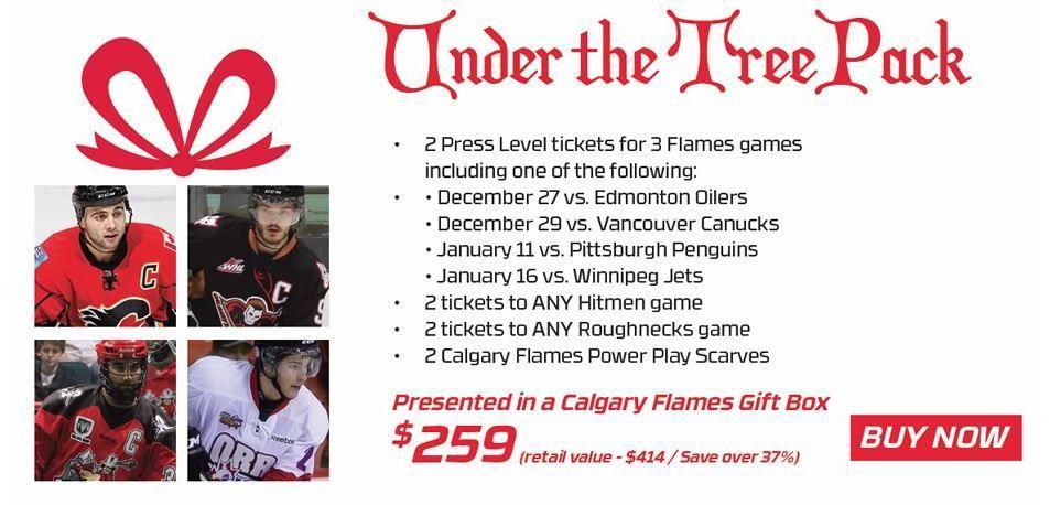 Calgary Flames Last Minute Holiday Gift Ideas Under The Tree Pack Calgary Flames Holiday Gifts Holiday