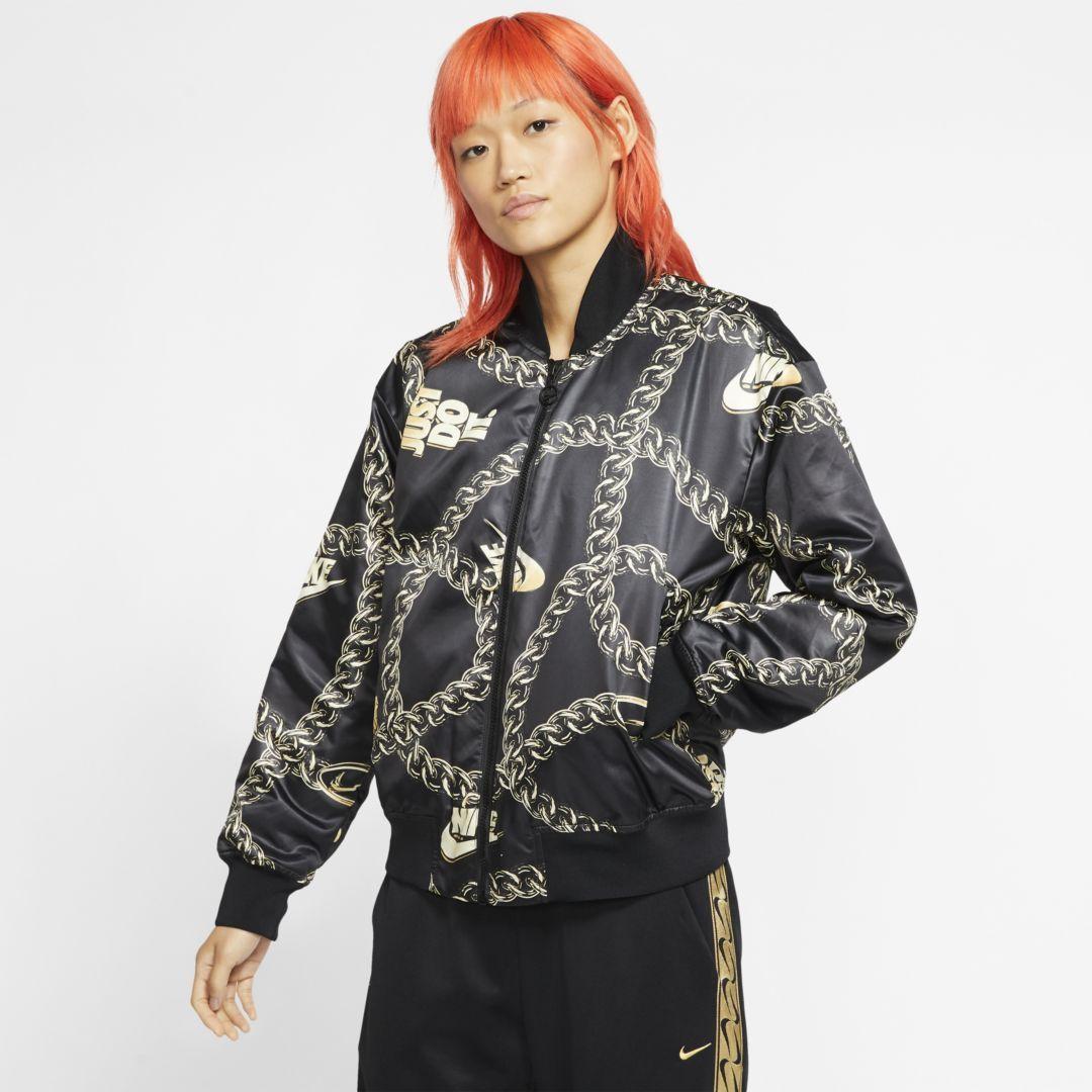 Nike Sportswear Synthetic Fill Icon Clash Womens Jacket