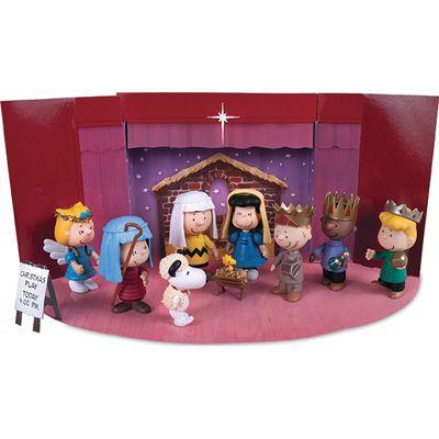 Peanuts nativity scene. $16.99 | Products I Love | Pinterest