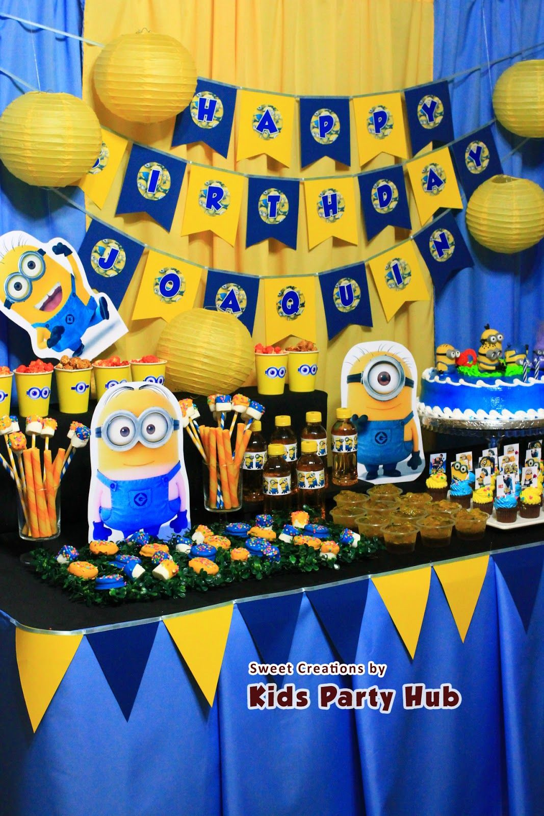 Despicable Me Minions Kids Birthday Party Doğum günü