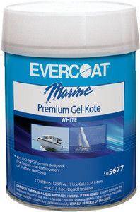 Evercoat 105677 Gel Kote White Gallon