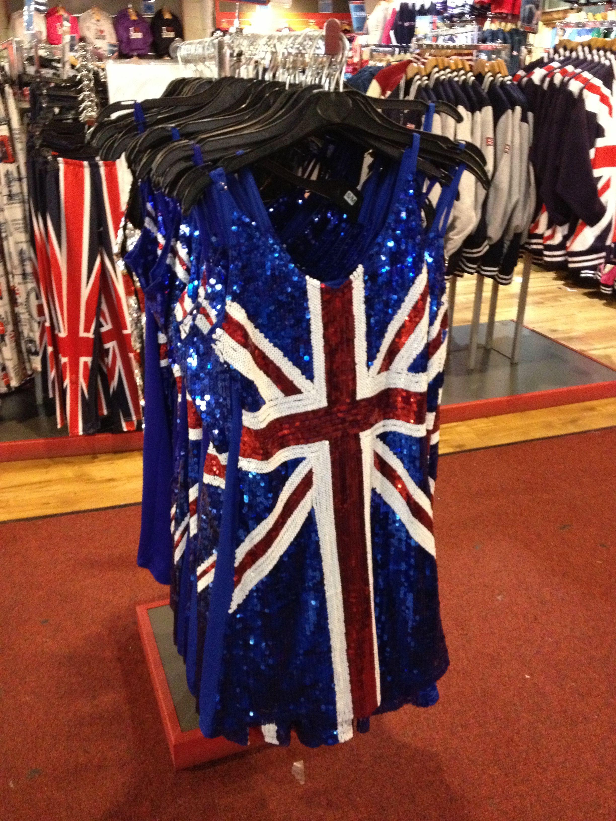 [6+] Uk Flag Dresses