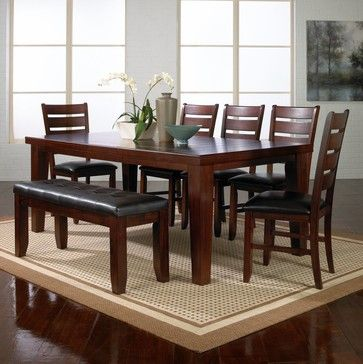 The Brownstone   Contemporary   Dining Tables   San Diego   Jeromeu0027s  Furniture