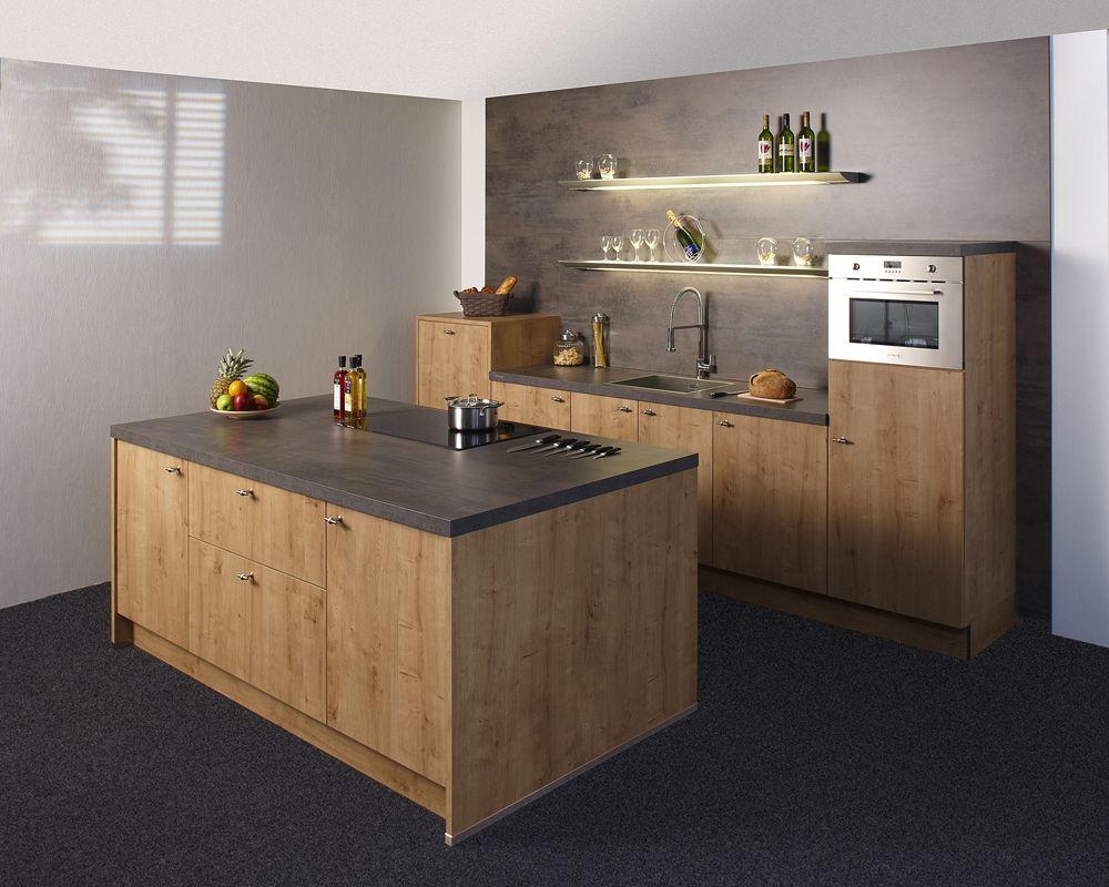KeukenDeal   60   Nolte Manhattan Chalet   Geheel Compleet, Inclusief  Montage