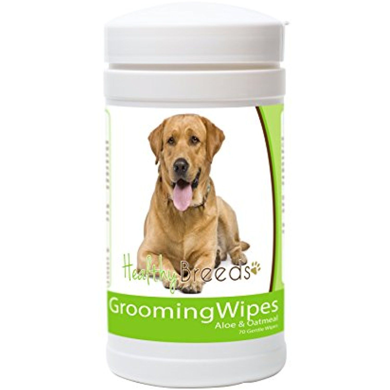 Healthy Breeds Dog Multi Purpose Grooming Wipes For Labrador